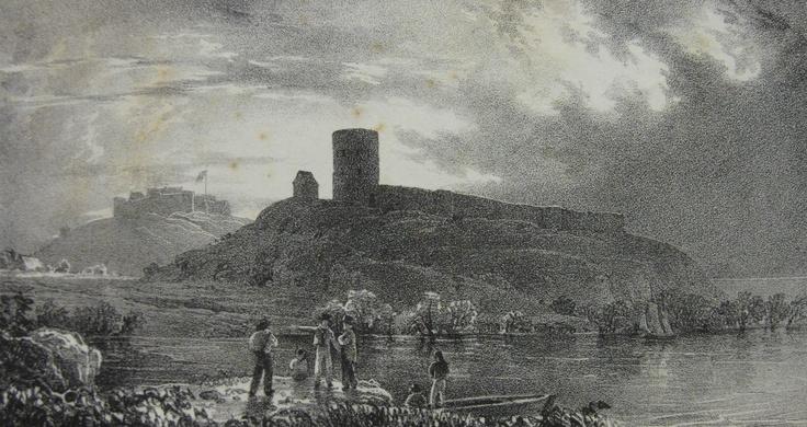 Mont Crevelt & Vale Castle, 1826.