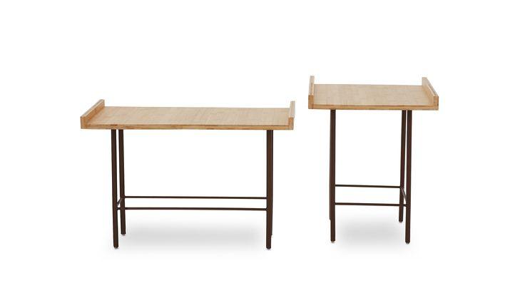 Mesas SKIN BAMBU Design : Marcus Ferreira & Atelier Crudo