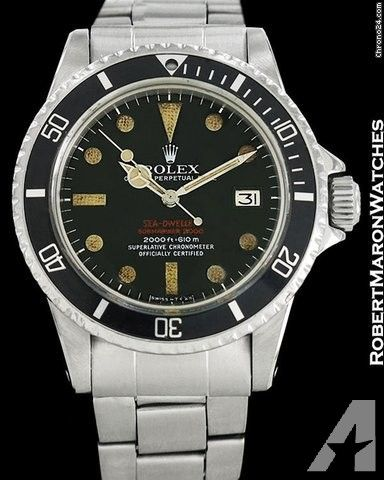 Rolex Double Red Sea Dweller Submariner