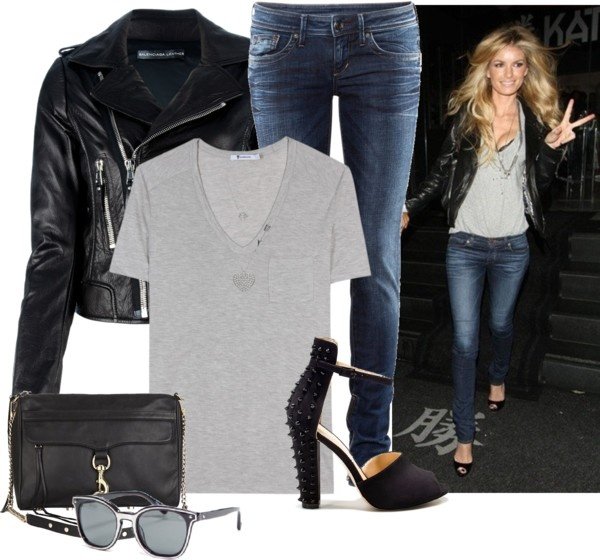 """""""biker chic"""" by stacy-gustin on Polyvore"""