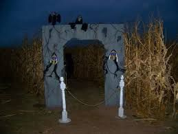 Image result for haunted corn maze