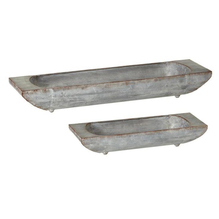 Galvanized Metal Trough
