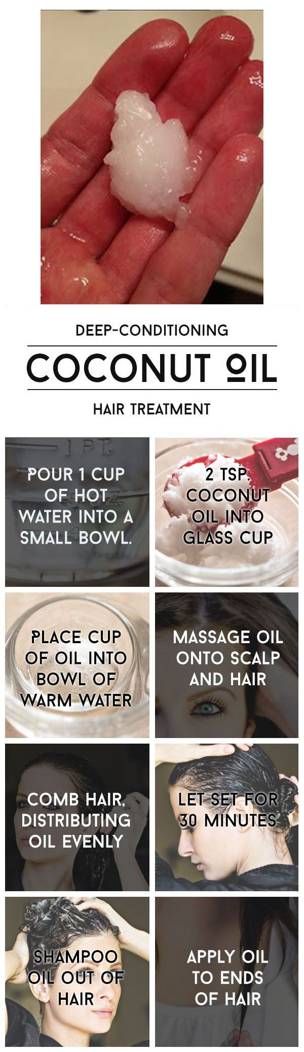 Do you know what's really in your products? Try this DIY hair recipe because your hair deserves it