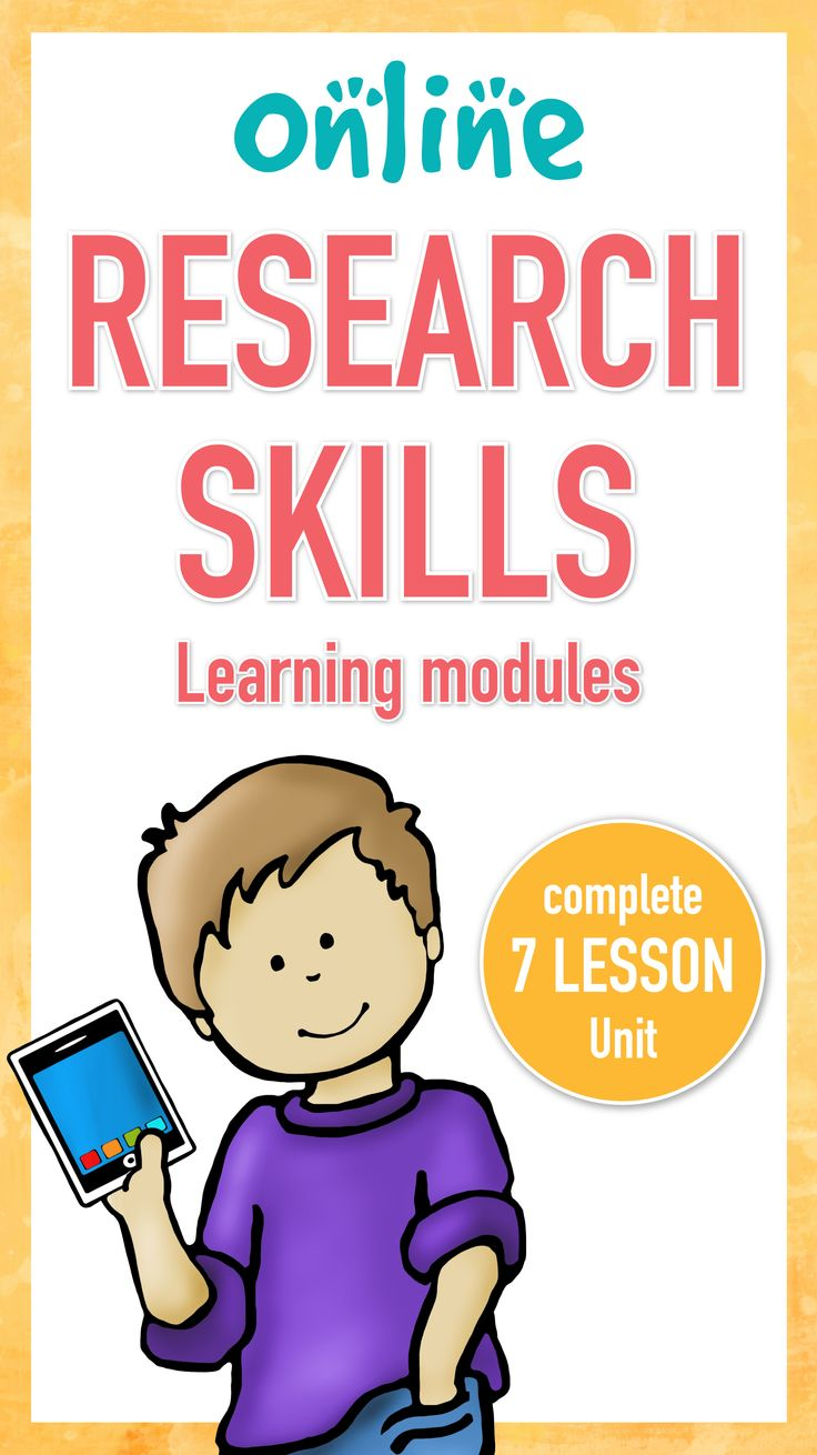 Research Skills are critical for today's students. This complete 7 lesson unit will teach your upper elementary or middle school students everything they need to be successful online researchers. Updated 9/17/17 with an answer key.
