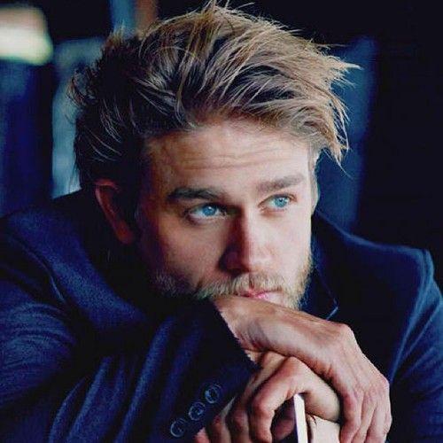 Those eyes, that hair. Charlie Hunnam