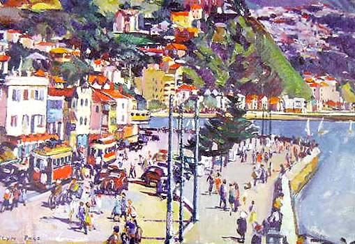 Check out Oriental Bay, Wellington by Evelyn Page at New Zealand Fine Prints