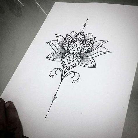 Préférence Oltre 25 idee di tendenza per Tatuaggio mandala su Pinterest  EL17