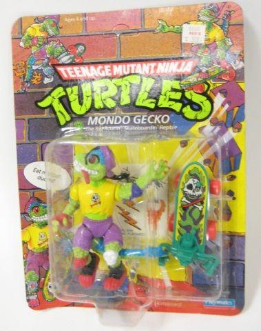 1990 TMNT Ninja Turtles Mondo Gecko