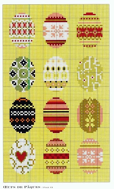 Gallery.ru / Фото #50 - 516 - Yra3raza пасха  Easter eggs cross stitch