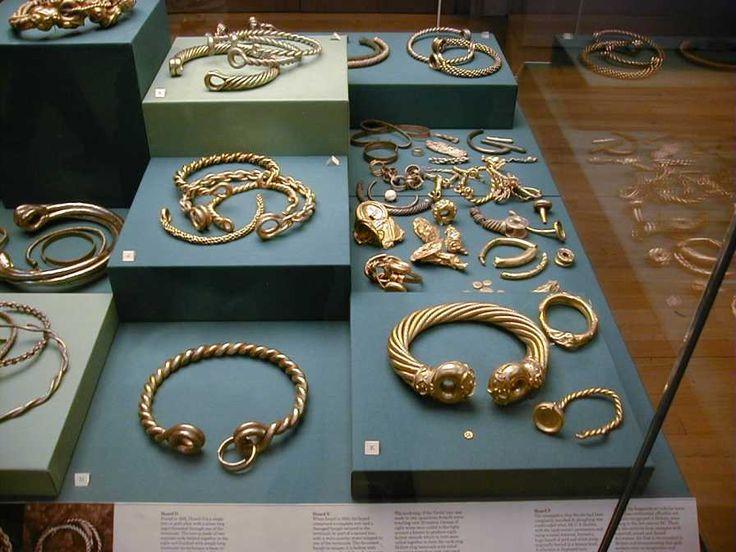 Celtic Torcs In The British Museum Celtic Pictish