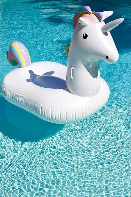 Bouée licorne pour piscine