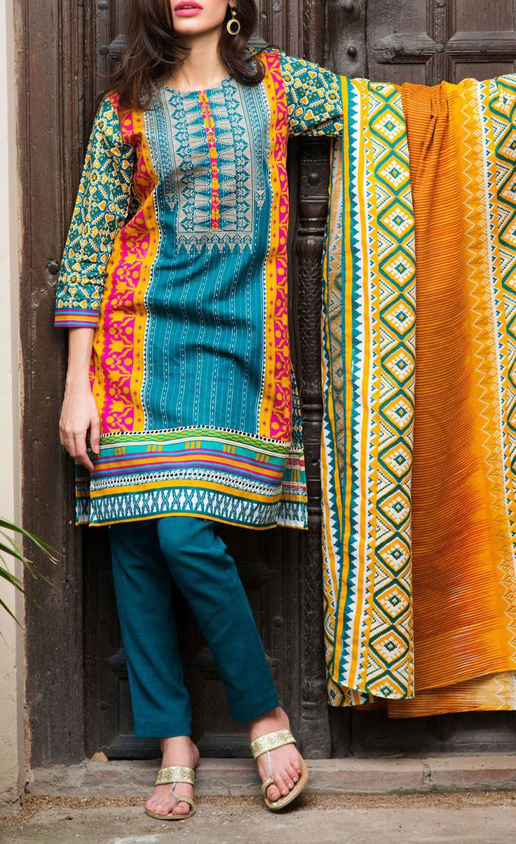 Buy Teal Blue/Mustard Embroidered Khaddar Salwar Kameez by Khaadi 2015 Call: (702) 751-3523 Email: Info@PakRobe.com www.pakrobe.com #WINTER #SALWAR #KAMEEZ https://www.pakrobe.com/Women/Clothing/Buy-Winter-Salwar-Kameez-Online