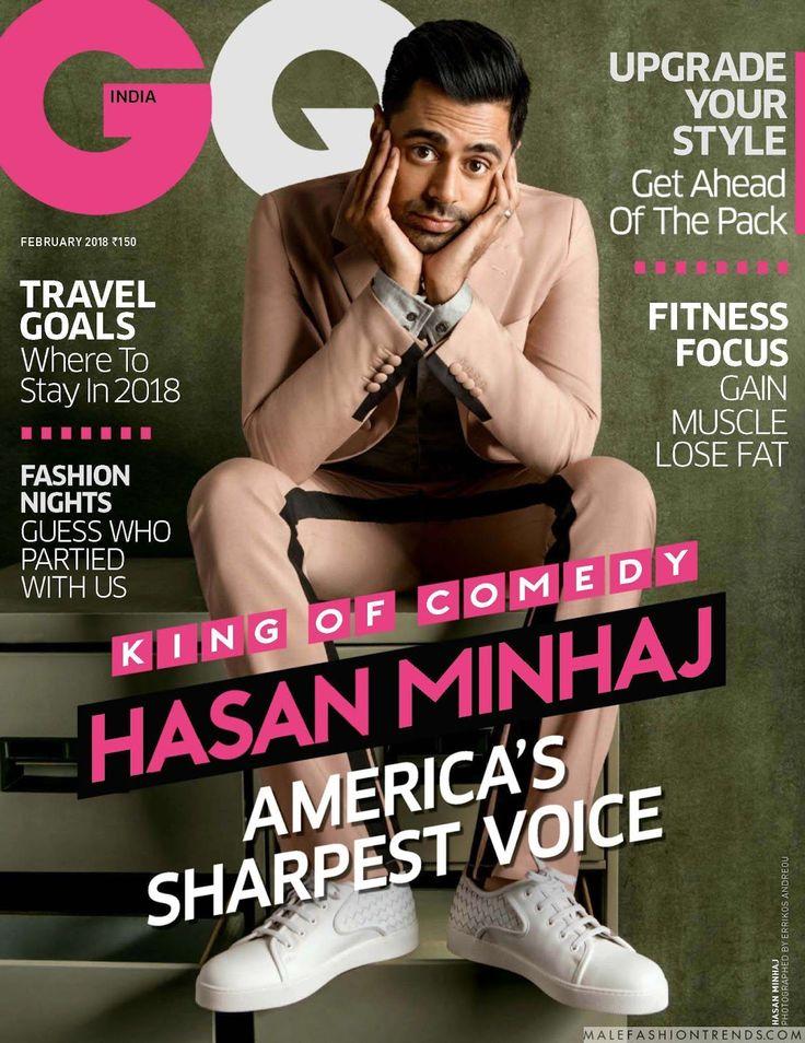 Hasan Minhaj eleva el look sartorial a otro nivel para GQ India en su número de febrero