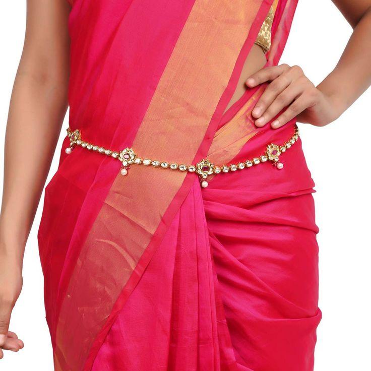 Kundan Belt ACBELT2 #Kushals #Jewellery #FashionJewellery #IndianJewellery #WeddingAccessories #Belt  #Kundan