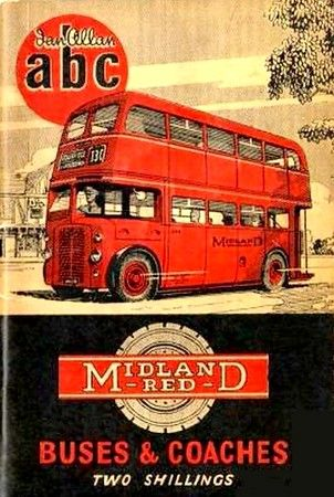1955 Midland Red Buses & Coaches, 4th edition (with map), published May