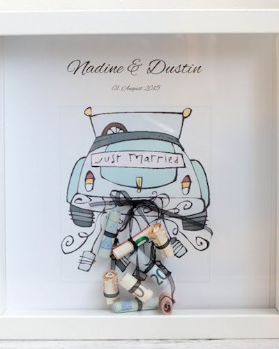 Geldgeschenke kreativ verpacken: Schöne Ideen für die Hochzeit – Claudia Just