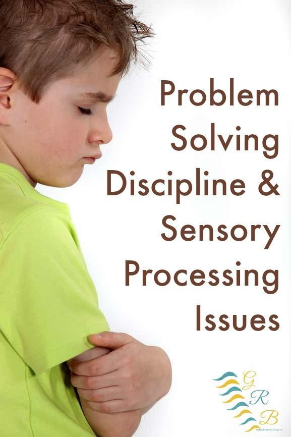 Do you struggle figuring out how to discipline your child who may have sensory processing problems? | www.GoldenReflectionsBlog.com