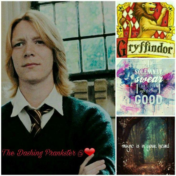 aesthetic art of George Weasley