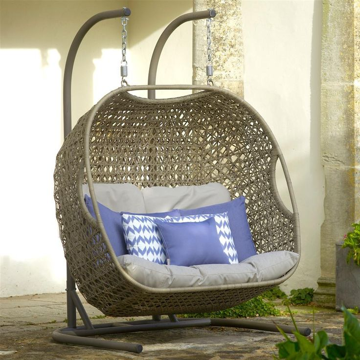 outdoor swing chair with stand uk