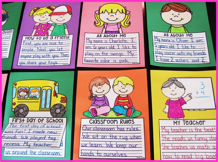 first day of school writing activities Have you tried interactive phonics activity books in your classroom yet these  books are  you may also like these earth day writing prompts.