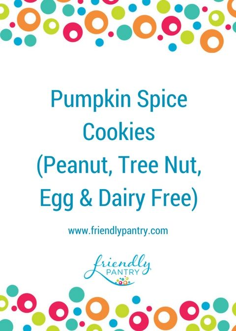 One of our family's favourite way to get our pumpkin spice fix!  Peanut, Tree Nut, Egg and Milk Free and Yummy! www.friendlypantry.com