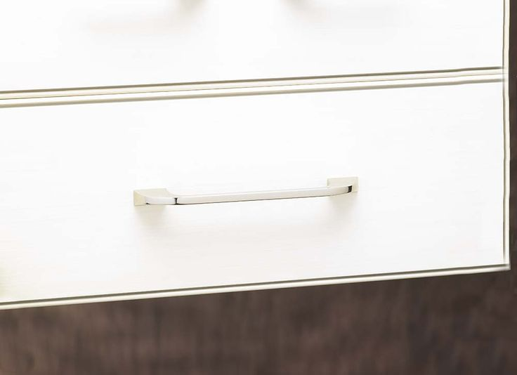 this top knobs pull in brushed satin nickel accents any kitchen design