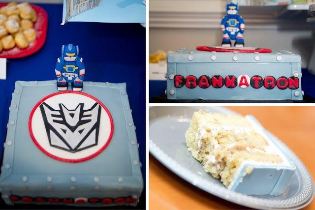 Kara's Party Ideas Trans'4'mers Birthday Party! - Toy, Transformer Party | Kara's Party Ideas