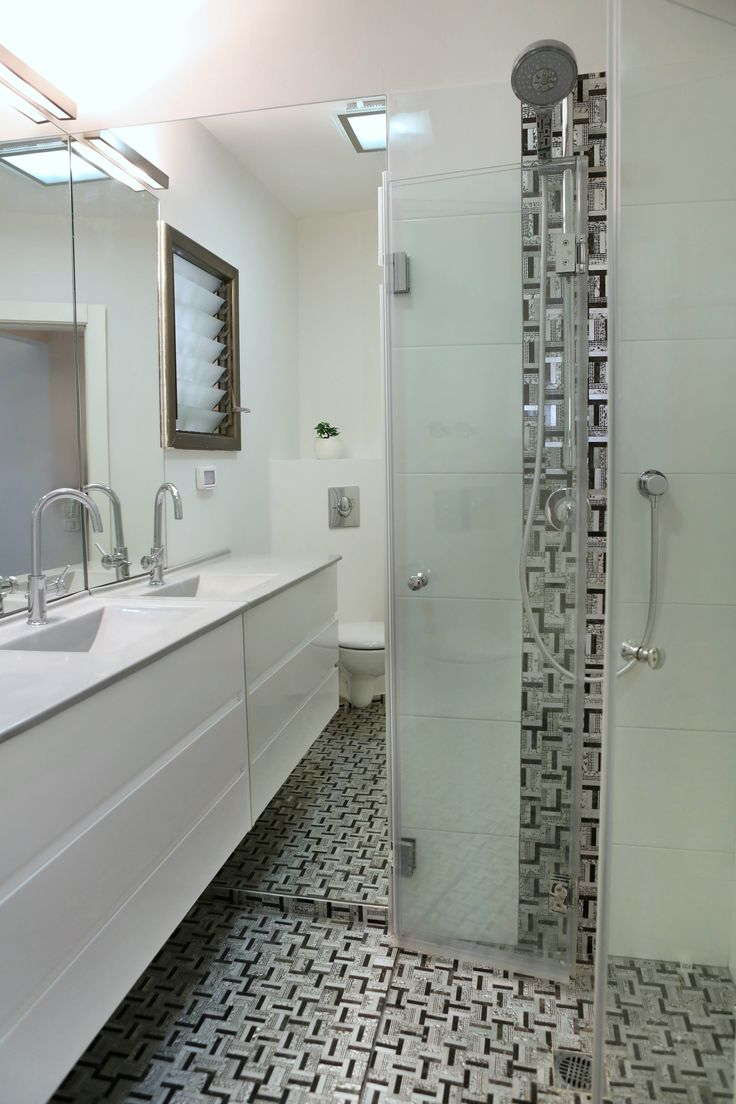 even a very small bathroom can be designed to look bigger
