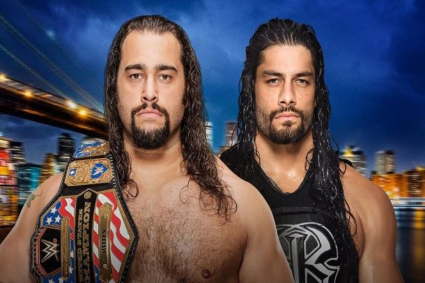Roman Reigns vs Rusev Clash of Champions 2016