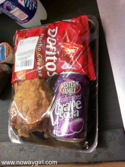 LMAO This is what you call Ghetto Lunchables! - NoWayGirl
