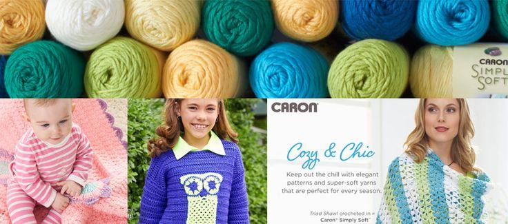 Yarn : Caron brand