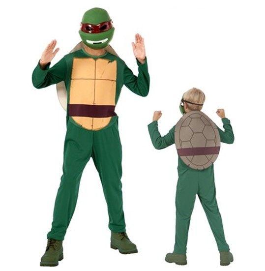 The ninja Turtles kostuum 8-10 jaar. Te koop online bij Feestwinkel Altijd Feest.