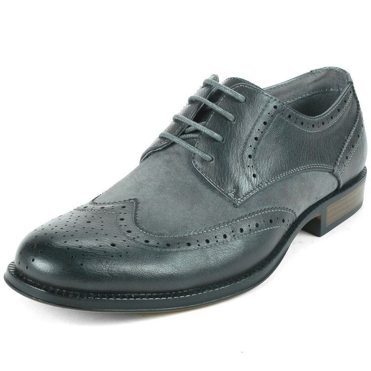 EBAY:  Was $87.50, NOW $24.99 + Ships FREE!  Men's Alpine Swiss Zurich Wing Tip Dress Shoes Two Tone Brogue Lace Up Oxfords  3 Colors, Size 7-15  SAVE $62: http://ebay.to/2Bu9sCP  #ad