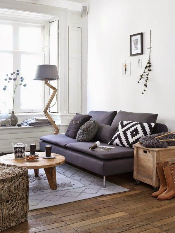 Visite déco : Un petit appartement scandinave très pratique… @decocrush