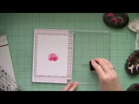 How to make your own stamping tool | stamp positioner used with Altenew Stamps and Inks - YouTube