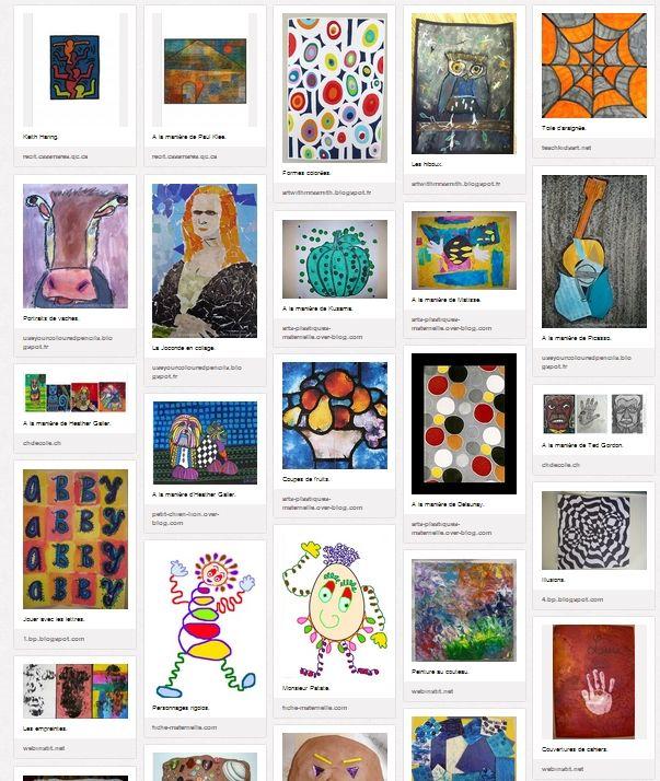 Pr�s de 150 id�es � mener en arts visuels, en maternelle et au primaire. Des productions illustr�es proposant de nombreuses techniques, des travaux � la mani�re d'artistes, des peintures, des sculptures, des reproductions...