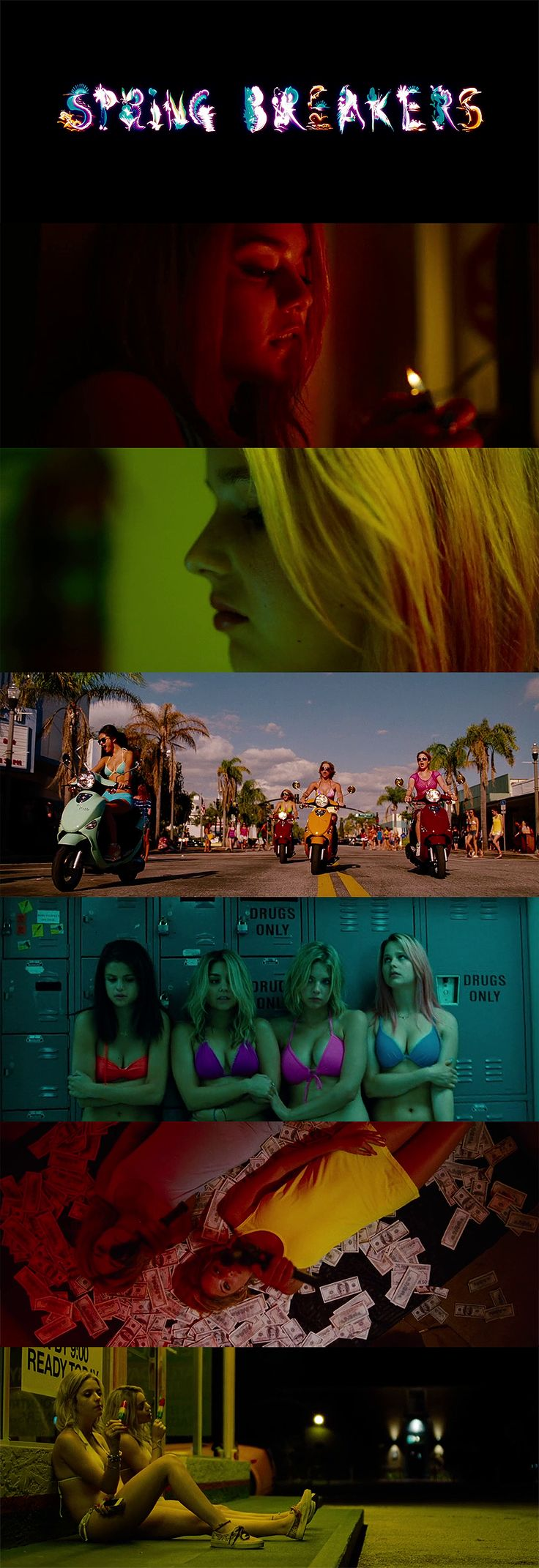 Spring Breakers (2012) cinematography : Benoît Debie