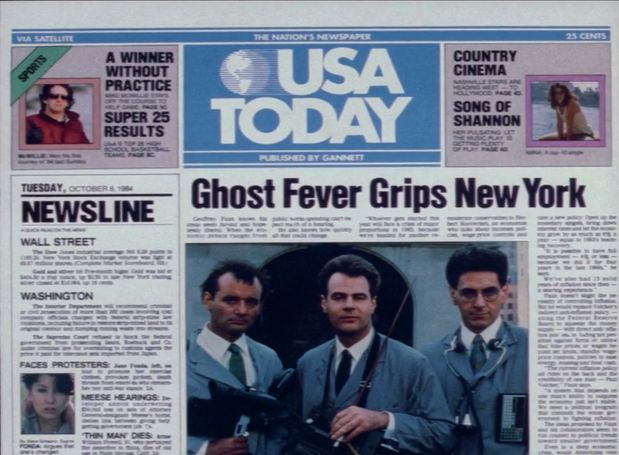Have you seen the news today? #Ghostbusters