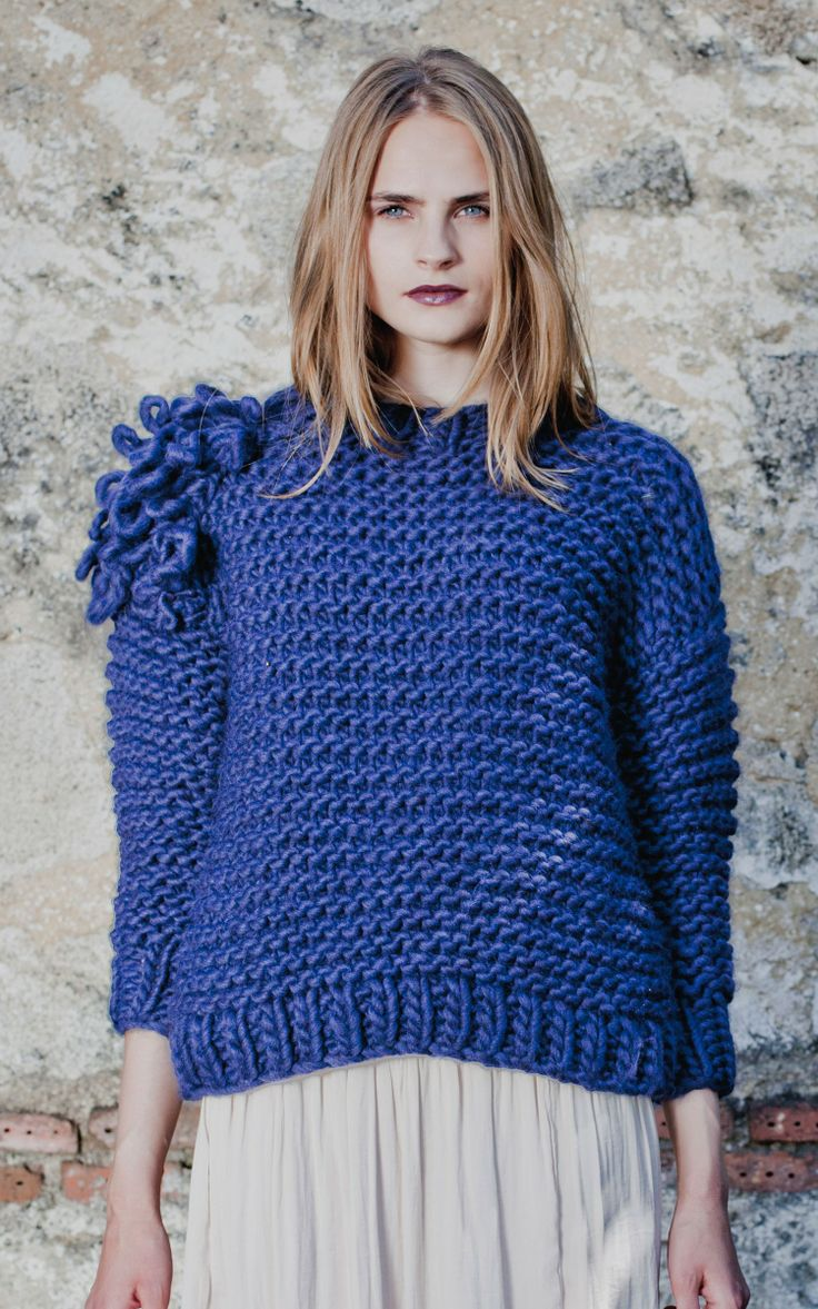 """SWEATER KIT """"we are knitters"""" UK"""
