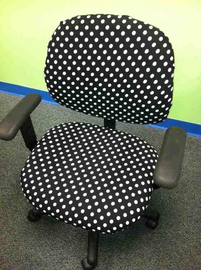 Polka Dot Desk Chair
