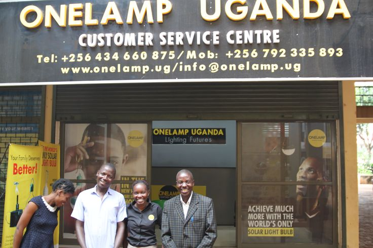 The great team at Onelamp, bringing solar energy to the people of Uganda