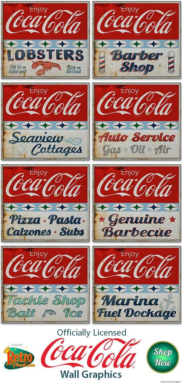 Pin On Coca Cola Wall Decor Decorating Ideas