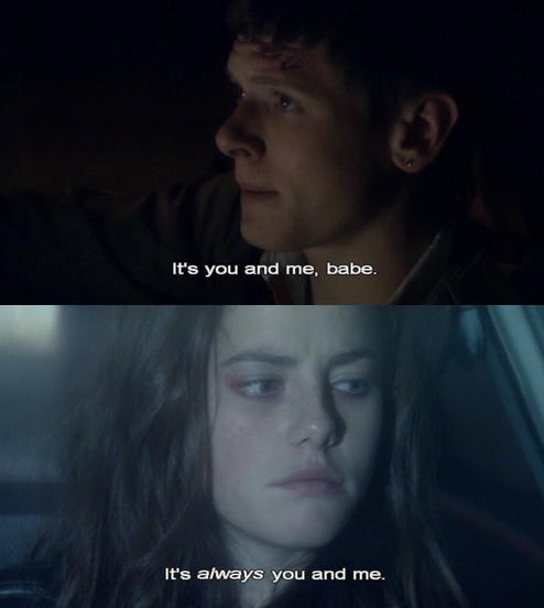cook and effy from skins UK - FAVORITE