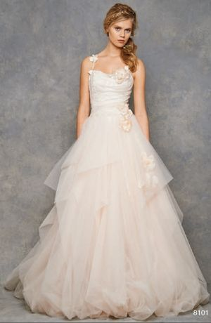 Sweetheart A-Line Wedding Dress  with Natural Waist in Tulle. Bridal Gown Style Number:32824757