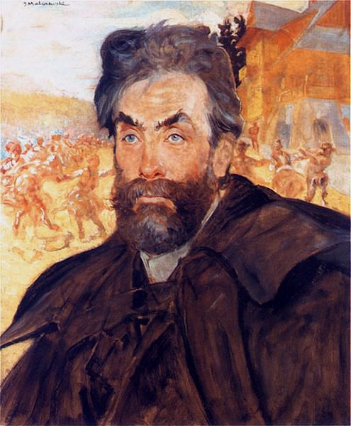 Portrait of Stanislaw Witkiewicz by Jacek Malczewski, 1897.