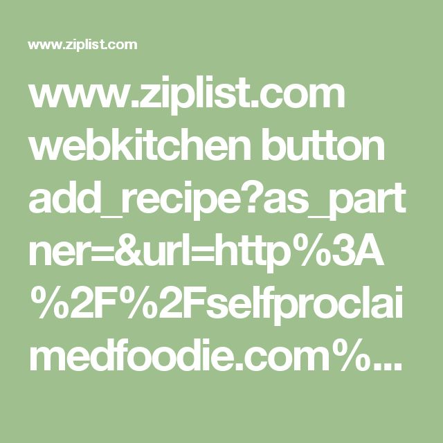 www.ziplist.com webkitchen button add_recipe?as_partner=&url=http%3A%2F%2Fselfproclaimedfoodie.com%2Fhow-to-make-candy-googly-eyes%2F