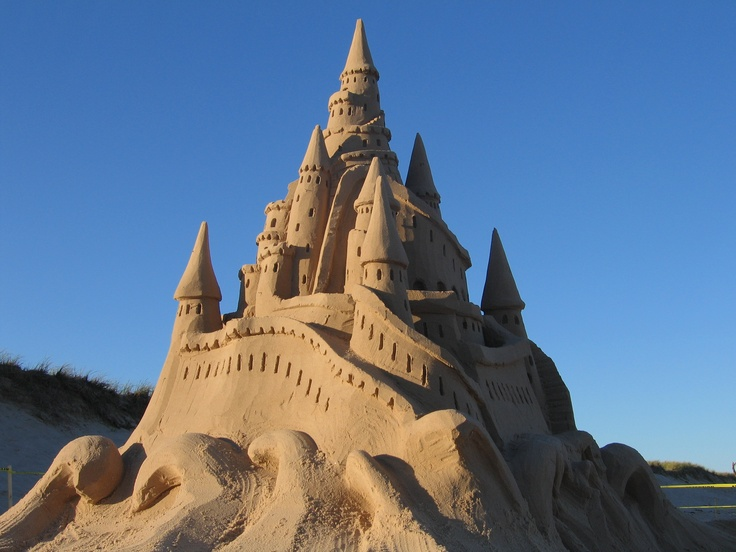 Ch teau de sable paysage pinterest for Gimnasio 9 y 57