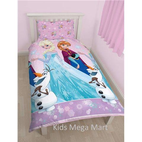 Frozen Disney Magic Reversible Single Size Doona Cover Set available at Kids Mega Mart online Shop Australia www.kidsmegamart.com.au