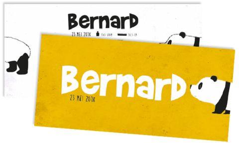 Geboortekaart Bernard
