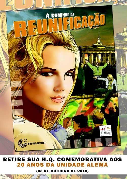 """A H.Q. """"À Caminho da Reunificação"""" foi elaborada a fim de comemorar os 20 anos da Reunificação Alemã, ocorrida no dia 03 de outubro de 1990. Com arte de Alexandre de Maio (Catraca Livre) e edição de Martin Wille (Goethe-Institut) a publicação traz sua interpretação da Queda do Muro de Berlim e da reunificação Alemã,...<br /><a class=""""more-link"""" href=""""https://catracalivre.com.br/geral/agenda/indicacao/hq-comemora-os-20-anos-da-reunificacao-alema/"""">Continue lendo »</a>"""